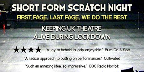 Short Form Scratch Night: September Edition tickets