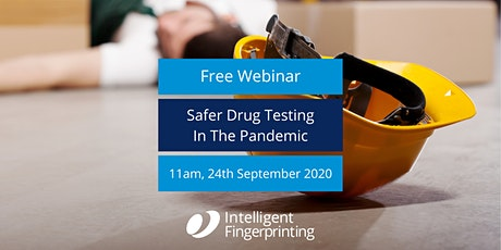 Safer Drug Testing in the Pandemic - Free Webinar tickets