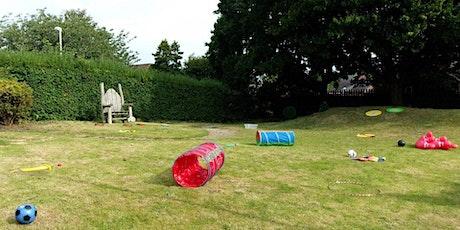 Outdoor Stay & Play at Sandbach Park tickets