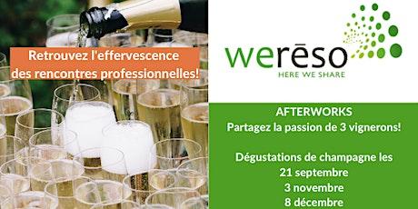 Afterwork Dégustation Champagne billets