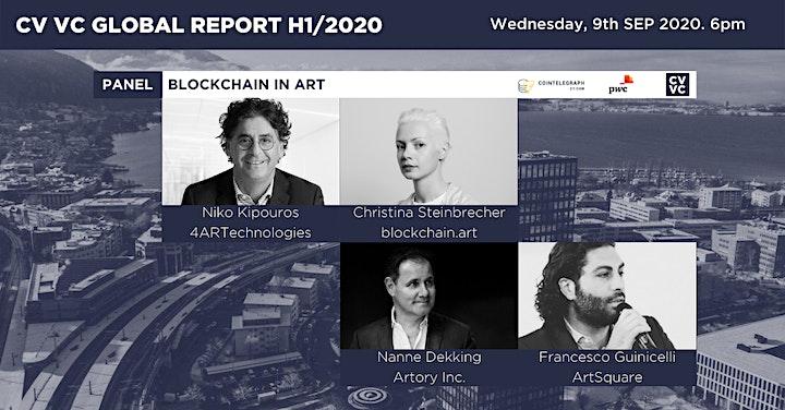 CV VC Global Report - Blockchain in Art image