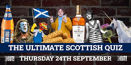 Quiz Nights at Shout! Edinburgh - The Ultimate Scottish Quiz tickets