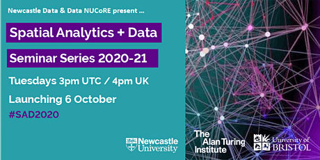 Spatial Analytics + Data Seminar Series | Launch Event tickets