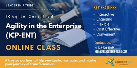 Agility in the Enterprise (ICP-ENT) | Virtual - Part Time tickets