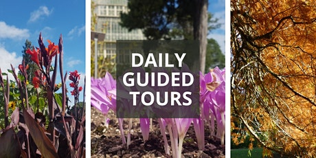 September Daily Guided Tours of the National Botanic Gardens tickets