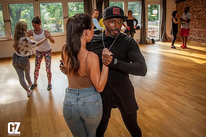 Ghetto Zouk Dance vs Kizomba dance boot camp for beginners  & improvers image