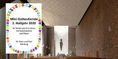 Mini-Gottesdienst 15. November 2020 Tickets