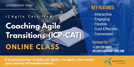 Coaching Agile Transitions (ICP-CAT) | Virtual Classes - December 2020 tickets