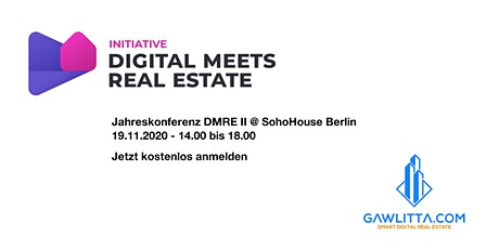 DMREII - The SohoHouse PropTech Conference Tickets