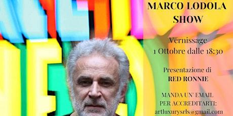 Marco Lodola Show biglietti