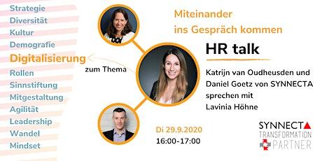 Digital HR - So wird HR zum Treiber der Digitalen Transformation Tickets