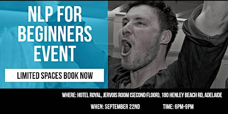 NLP for Beginners Free Event tickets