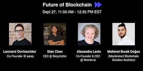 Future of Blockchain tickets