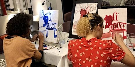 Peindre Le Moulin Rouge billets