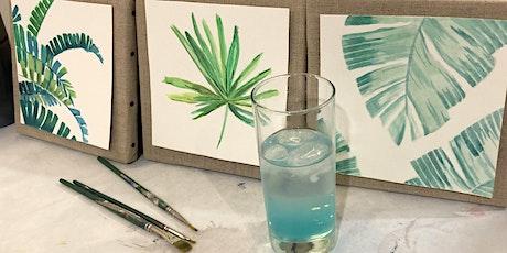 Peindre son Triptyque Jungle billets