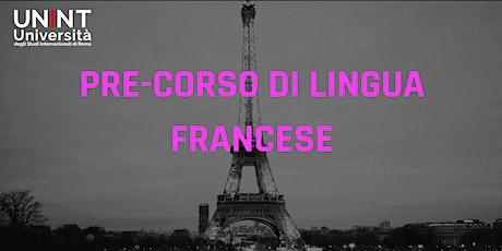 Pre-corso di lingua francese biglietti