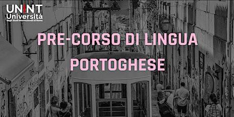 Pre-corso di lingua portoghese biglietti