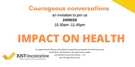 Courageous conversations health tickets