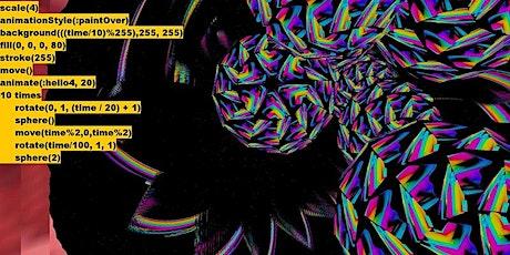 Live Coding Visuals by Antonio Roberts tickets