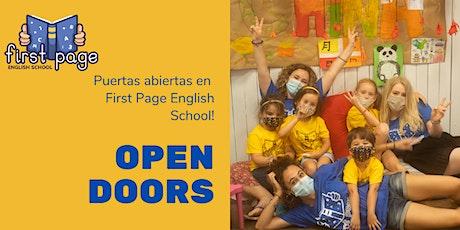 Puertas Abiertas - Actividades en inglés en Barcelona tickets