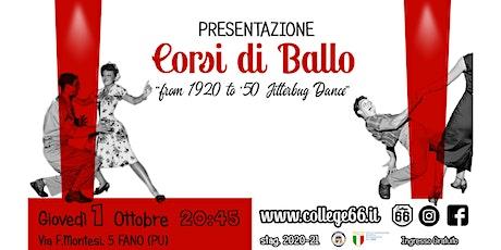 I Corsi di Ballo Swing a Fano (PU) biglietti