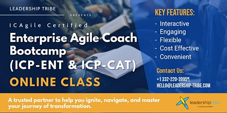 Enterprise Agile Coach Bootcamp (ICP-ENT & ICP-CAT) | Virtual - Part Time tickets