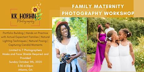 Family Maternity Photography Workshop by KK Horhn Photography tickets