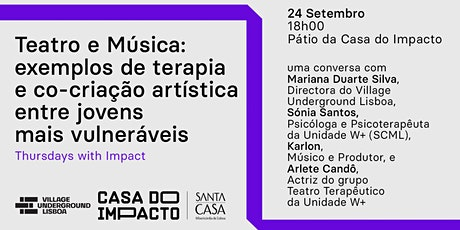 Thursday with Impact by Acorde Maior @ Semana do Empreendedorismo de Lisboa tickets