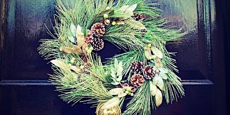 Leisure Learning: Traditional Christmas Wreath Workshop tickets