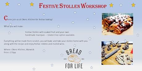Festive Stollen Workshop tickets