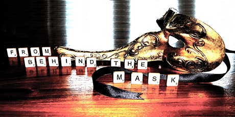 From Behind the Mask: an online masked poetry workshop with Angela Cleland tickets