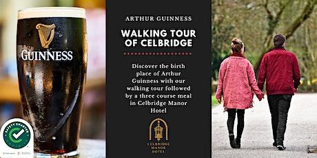 Arthur Guinness Walking Tour & Dinner tickets
