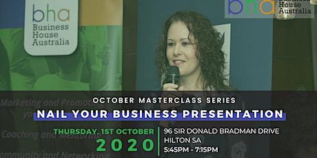 Business Masterclass Series tickets