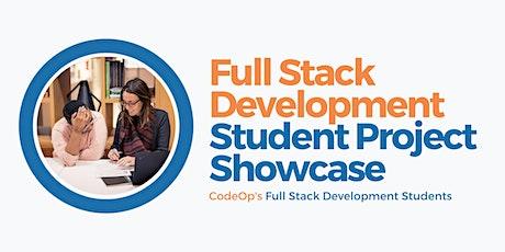 Student Project Showcase - Full Stack Development bilhetes