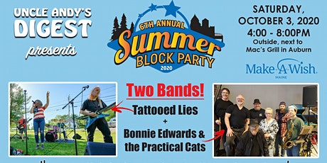 6th Annual Summer Block Party! tickets