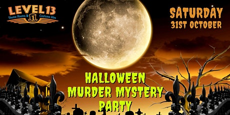 Halloween Murder Mystery Party tickets