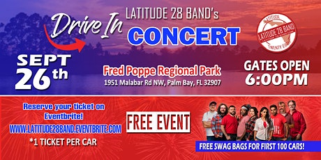 Latitude28's Free Drive-In Concert! (Palm Bay, FL) tickets