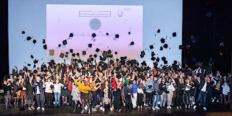 Cérémonie remise des diplômes 2020  lauréats- Lycée Notre Dame le Ménimur billets