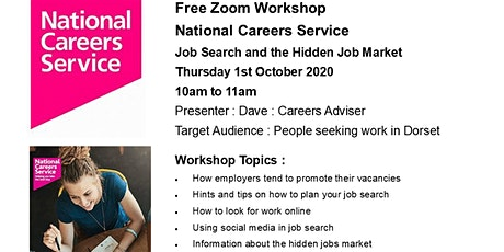 Job Search and the Hidden Job Market Workshop - National Careers Service tickets