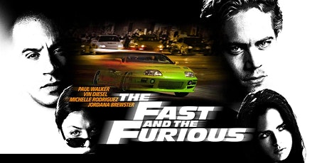 Drive in bioscoop - The Fast and the Furious tickets