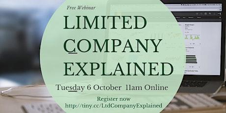 Limited (LTD) Company  Explained tickets