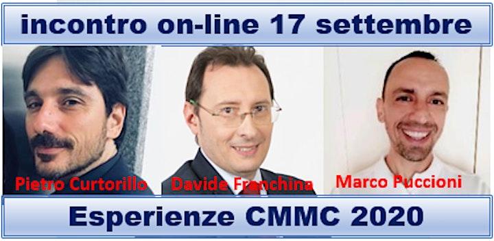 Immagine Presentazione Esperienze CMMC 2020