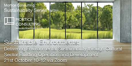Sustainable Environments tickets