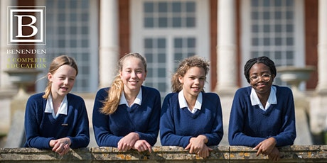 Benenden  Online Open Morning - Saturday 27 February 2021 tickets