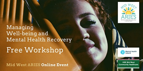 Free Workshop: Managing Well-being and Mental Health Recovery