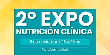 2° Expo Nutrición Clínica entradas