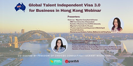 Global Talent Independent 3.0 for Businesses in Hong Kong tickets