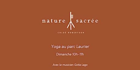 Les dimanches Yoga au Parc Laurier tickets