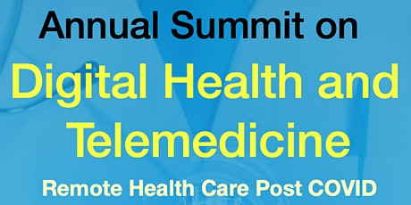 Annual Summit on Digital Health and Telemedicine tickets