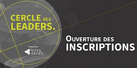 Cercle des leaders - Première cohorte billets